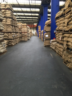 The Vollers specialty coffee warehouse facility